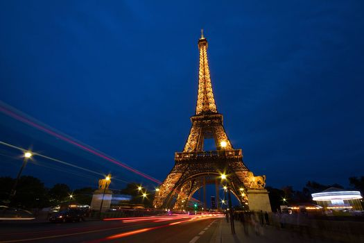 Скачать обои эйфелева башня, париж