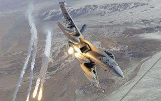 Фото бесплатно двигатель, самолет, скорость