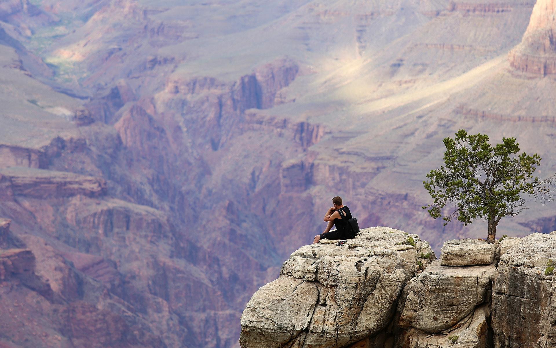 каньон, скала, камни