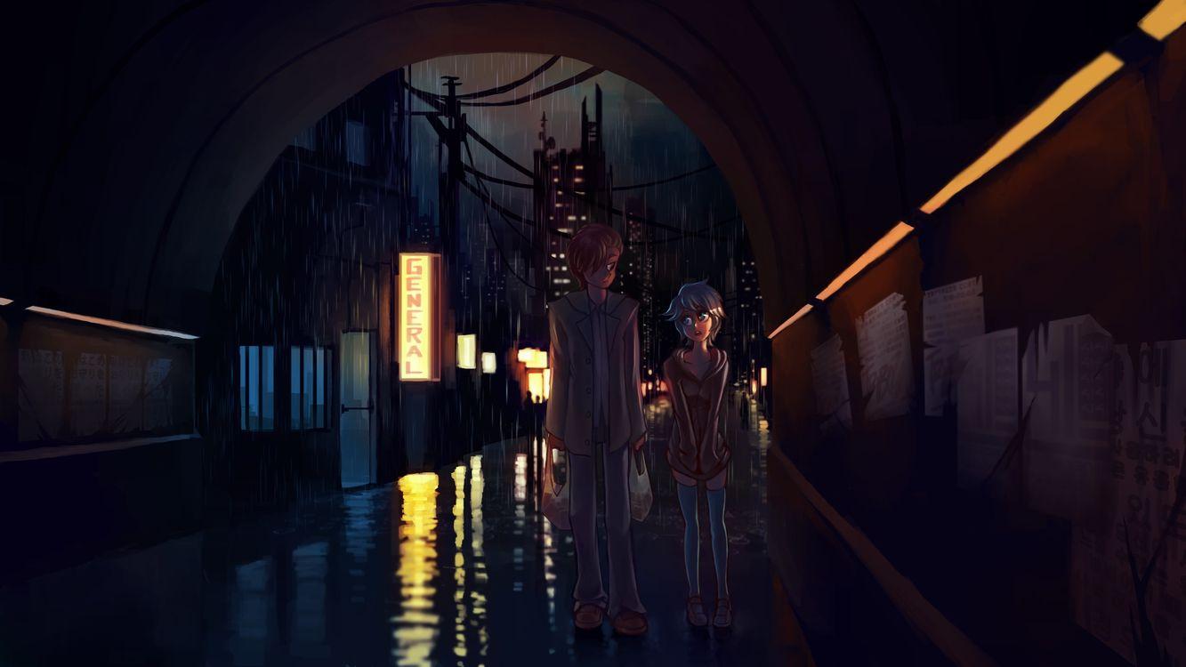 Фото бесплатно лужи, дождь, стены - на рабочий стол
