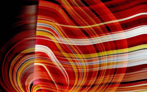 Фото бесплатно полосы, круги, волны