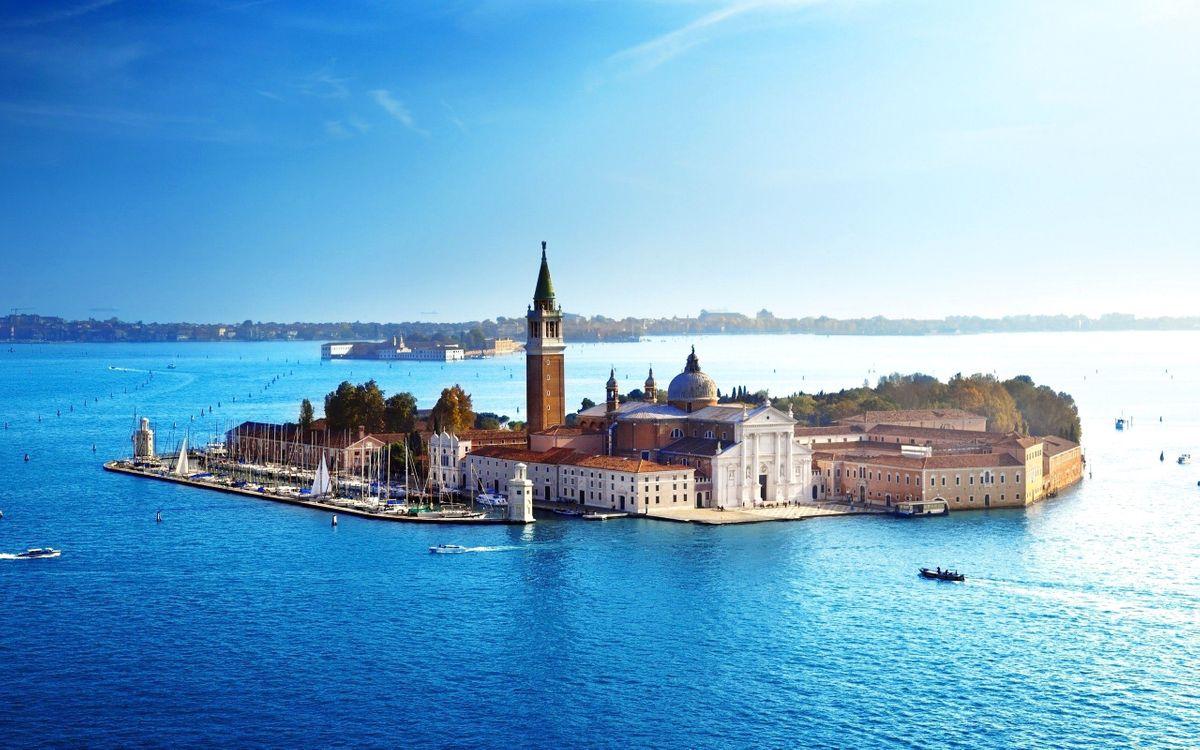 Фото бесплатно венеция море собор - на рабочий стол