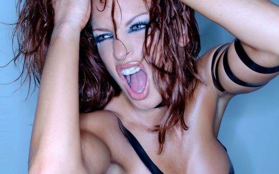 Photo free angry, screaming, hair