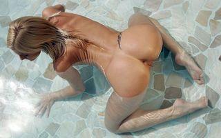 Фото бесплатно девушка, блондинка, секси