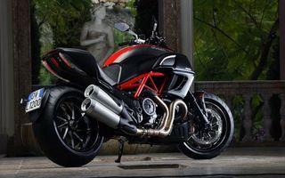 Фото бесплатно ducati, мотоцикл, черный