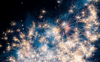 Бесплатные фото фейерверк,салют,огни,взрыв,свет,искры,небо