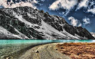 Заставки вода, небо, камни