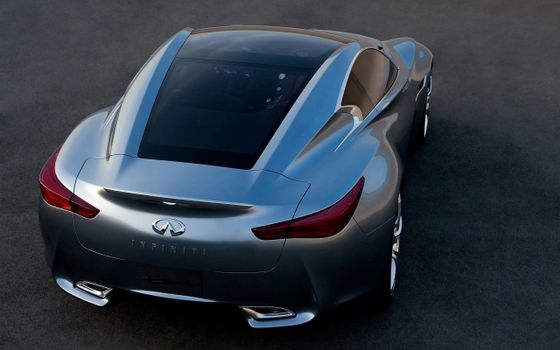 Photo free Infiniti, sports car, coupe