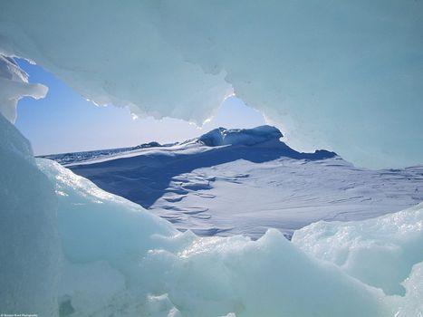 Заставки лед, пещера, сне
