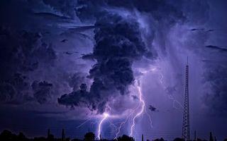 Фото бесплатно молния, гроза, гром
