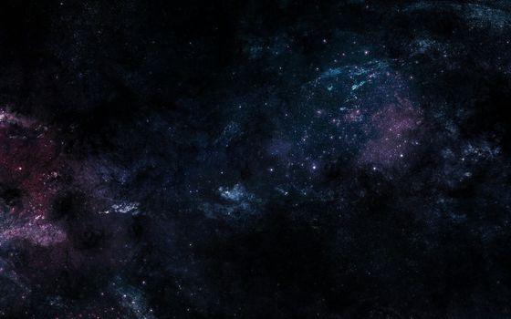 Заставки открытый космос, звёздное скопление, туманность