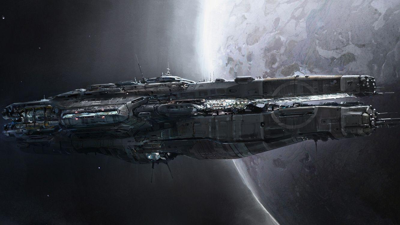 Фото бесплатно планета, земля, материк, корабль, космический, палуба, антенны, корпус, космос, фантастика, фантастика