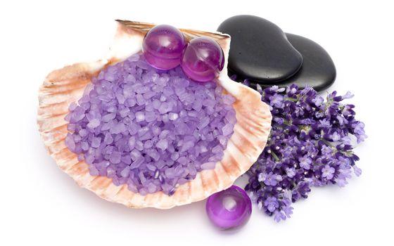 Фото бесплатно раковина, кристаллы, морская соль