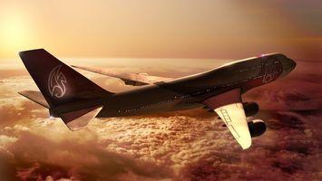 Бесплатные фото самолет,пассажирский,полет,крылья,двигатель,кабина,стекло