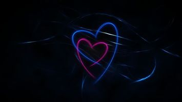 Photo free hearts, colorful, light