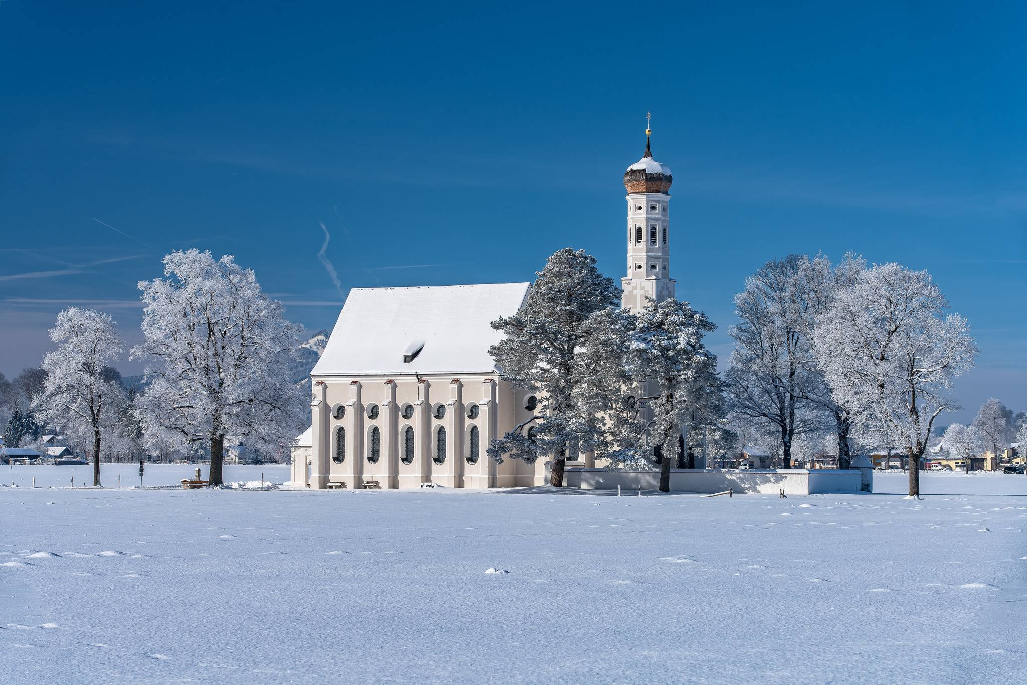 St Coloman Church, Bavaria, Германия