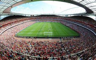 Фото бесплатно стадион, крыша, болельщики