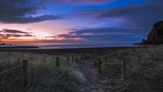 Фото бесплатно вечер, берег, песок