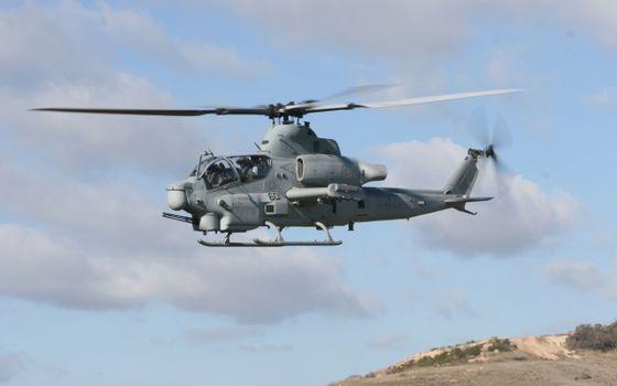 Фото бесплатно вертолет, полет, винты