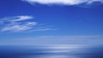 Фото бесплатно вода, небо, синее