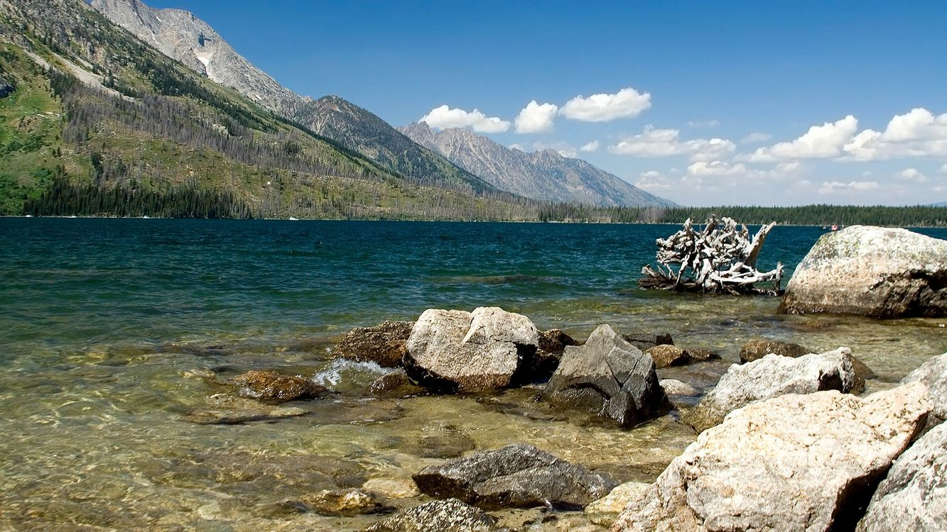 Free photo water, rocks, stones - to desktop