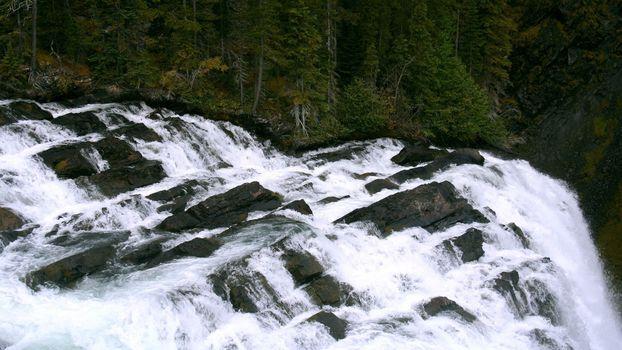 Фото бесплатно водопад, быстро, лес