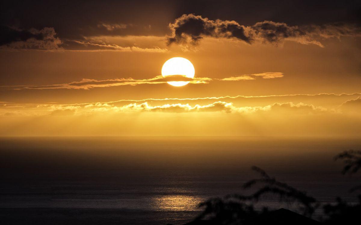 Фото бесплатно закат, пейзажи, облака - на рабочий стол