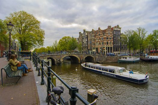 Download beautiful screensaver on the capital and the largest city of the netherlands, amsterdam