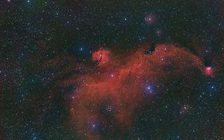 Фото бесплатно космос, туманность, скопление