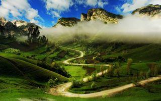Фото бесплатно горы, скалы, небо