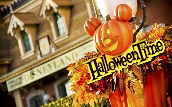 Заставки helloween, time, праздник, время, хэллоуин, праздники
