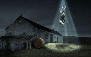 Бесплатные фото похищение,коровы,нло,пришельцы,яркий свет,ситуации