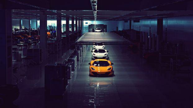 Photo free McLaren F1, sports car, coupe