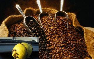 Фото бесплатно мешок, кофе, зерна, совки, лимон, гвоздика, разное