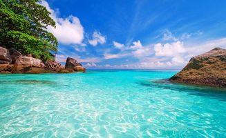 Бесплатные фото море,камни,скалы,небо,облака,пейзажи
