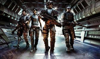 Заставки мультфильмы, звездный десант, вторжение, starship troopers, invasion, космический, корабль, солдаты, оружие