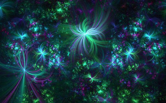 необычно, зеленый, красиво, ярко, вызывающее