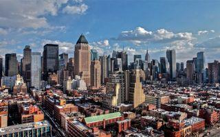 Бесплатные фото нью-йорк,дома,небоскребы,день,дороги,города