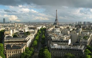 Фото бесплатно париж, эйфелева, башня