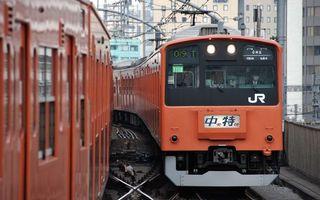Фото бесплатно поезд, рельсы, дома