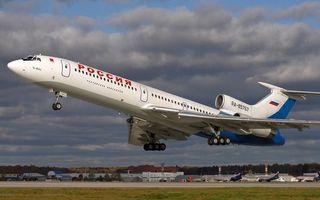 Бесплатные фото самолет,пассажирский,россия,небо,облака,асфальт,полоса