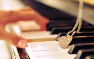 Фото бесплатно медальон, аккорд, клавиши