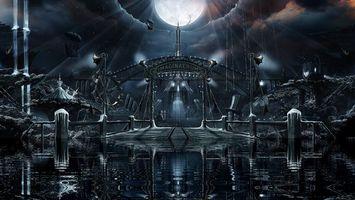 Бесплатные фото panorama,альбом 2011,imaginaerum,nightwish