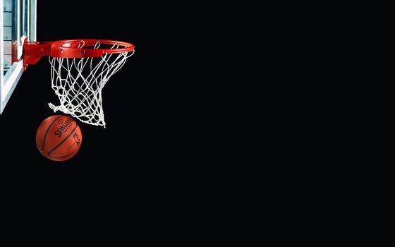Photo free basketball, ball, basket