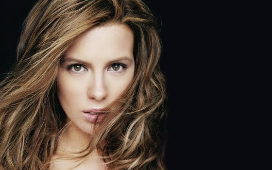 Photo free Kate beckinsale, actress, black background