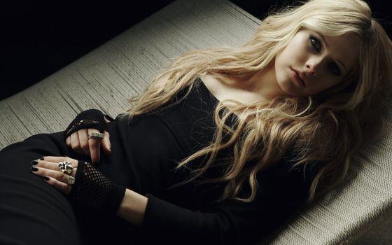 Фото бесплатно блондинка, макияж, платье