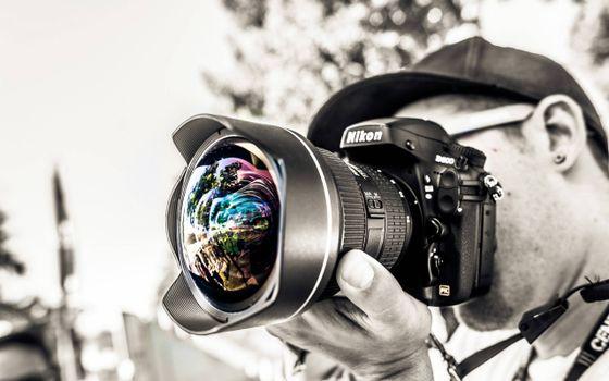 Заставки фотоаппарат, объектив, краски