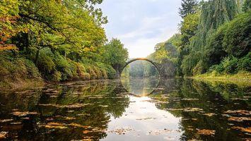 Фото бесплатно Германия, Мост Ракотцбрюке в Германии, Чертов мост