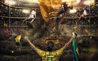 Бесплатные фото игра,футбол,игроки,поле,стадион,кубок,спорт