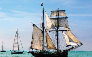 Фото бесплатно корабль, парусник, лодки